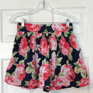 Abercrombie & Fitch Floral Mini Skirt- Small